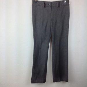 Gray Michael Career Pants